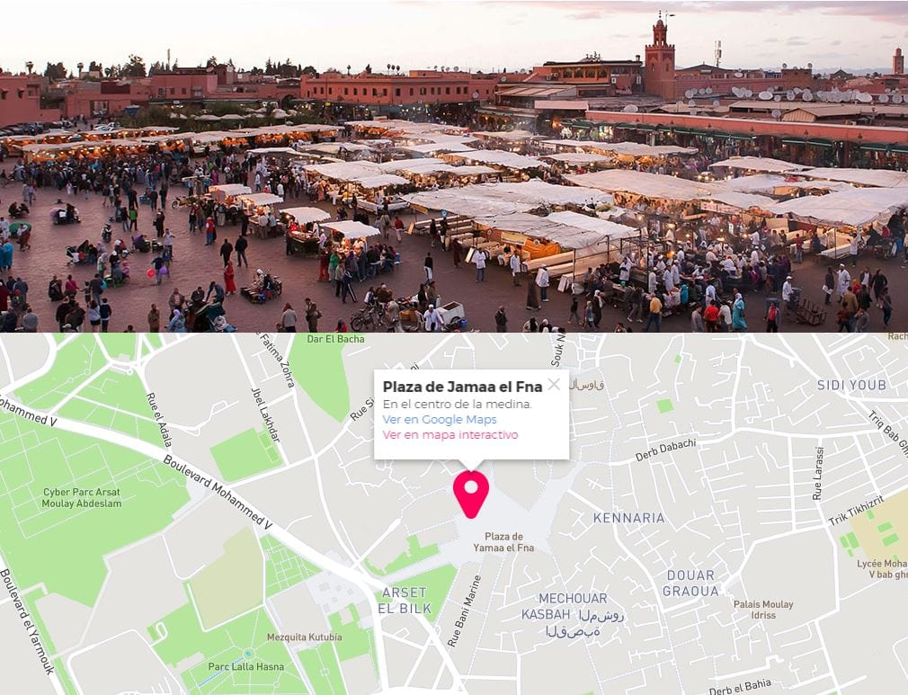 Viaje rápido a Marrakech
